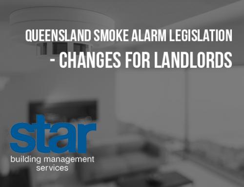 Queensland Smoke Alarm Legislation Changes – For Landlords